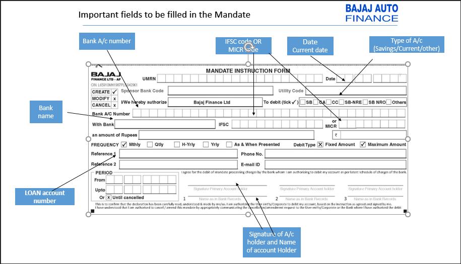 mandate instruction