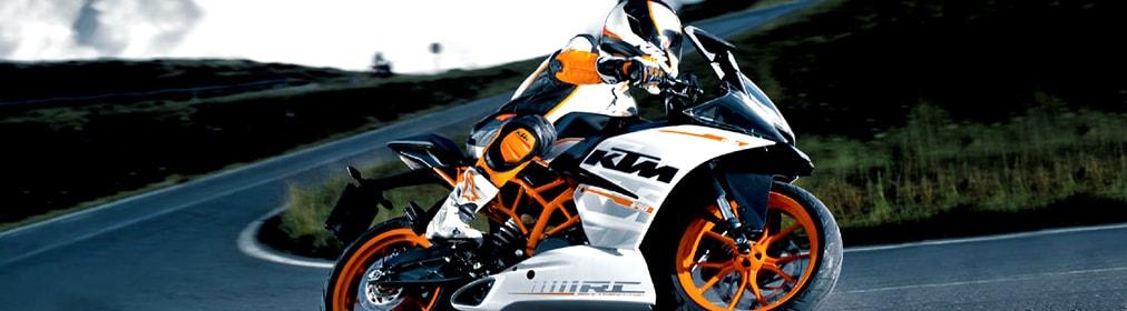 KTM RC 390-Banner
