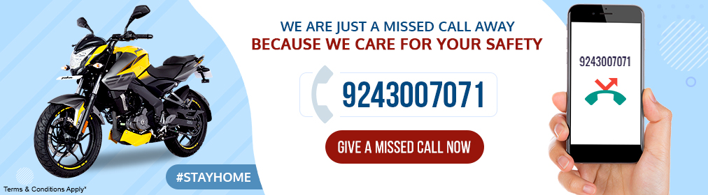 Missed call_BajajBike